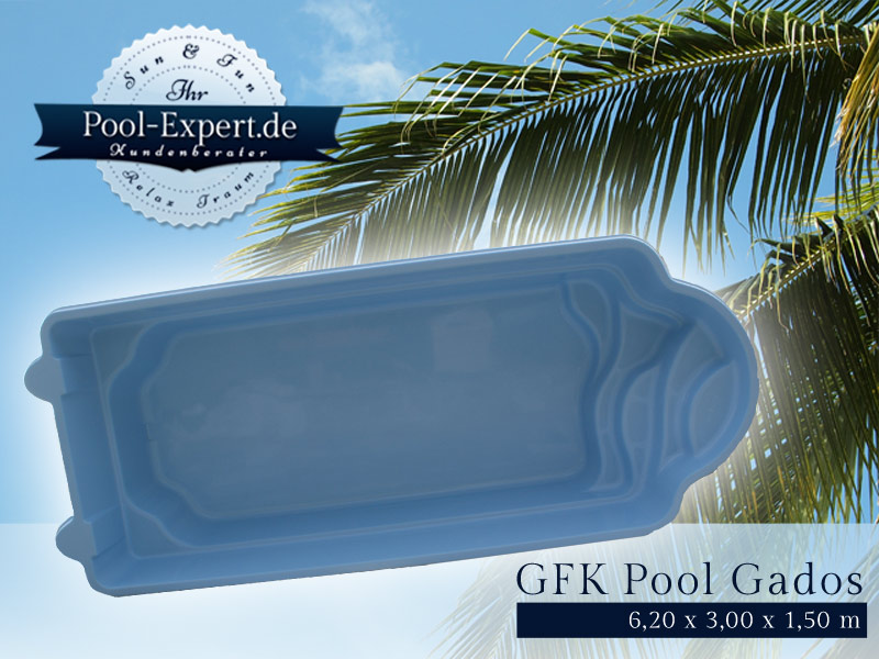 GFK Pool Schwimmbecken Swimming Pool M8